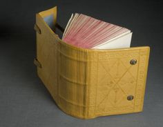 17th century Armenian binding :: University of Iowa Libraries Bookbinding Models