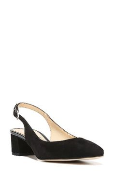 Free shipping and returns on Sam Edelman Lorene Slingback Pump (Women) at Nordstrom.com. A timeless slingback pump gets its lift from a low block heel for a day-to-night look with a right-on-trend profile.