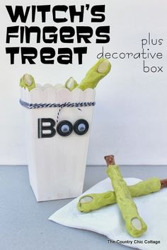 Halloween: Cajas de palomitas