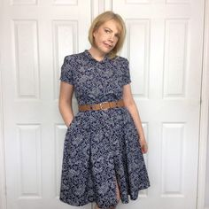 McCalls dress 6696 sewing pattern. Made by members of The Fold Line an online sewing community. Come Join the fun!!