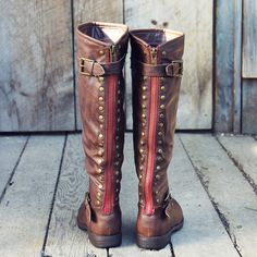 The Freestone Boots, Sweet & Rugged boots from Spool No.72 | Spool No.72