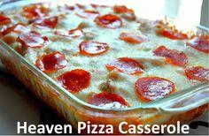 Heaven Pizza Casserole Recipe on Yummly. @yummly #recipe