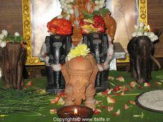 Aanai Pandige Karthikai also known as Karthika Deepotsava, Aane / Elephant Habba is an important festival of Iyengars (Vishishtha Advaitha sect) of Karnataka, Andhra Pradesh and Tamil Nadu. Great Philosophers, Coconut, Elephants, Painting, Festivals, Image, Painting Art, Paintings, Concerts