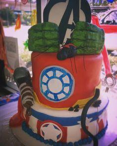 Avengers Cake Avenger Cake, Avengers, Cakes, Children, Boys, Kids, The Avengers, Cake, Pastries