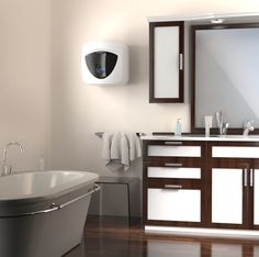 Andris Lux Eco d'Ariston, le chauffe-eau pour les solutions d'appoint ou pour les petites surfaces #mestravauxavecAriston