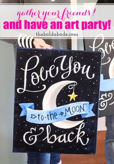 Grab your friends and throw an amazing Art Party! Creative girls are so much fun and what a great opportunity to eat, drink and throw some paint around!