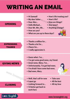 How to Write an Email Email Writing, Writing Tips, English Writing Skills, Writing Words, Essay Writing, Writing A Book, Business Writing Skills, Letter Writing, English Phrases