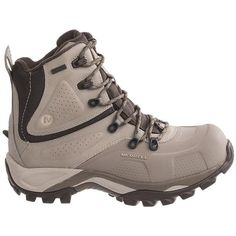 $105 Merrell Whiteout 8 Winter Boots - Waterproof, Insulated (For Women) in Aluminum