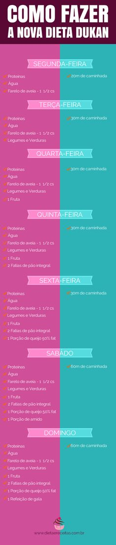 Nova Dieta Dukan - Escada Nutricional Todo Vapor, Diet Tips, Diet Recipes, Healthy Recipes, Healthy Life, Healthy Snacks, Health Diet, Health Fitness, Nova Dieta Dukan
