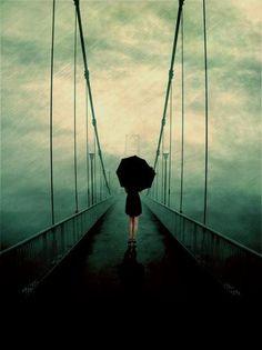 crossing bridges in the mist