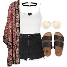 Coachella Look 1