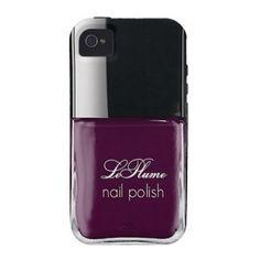 nail polish bottle iphone case
