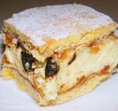 Najlepszy jest na drugi dzień. Polish Desserts, Polish Recipes, Cookie Desserts, Pie Recipes, Sweet Recipes, Dessert Recipes, Cooking Recipes, Polish Cake Recipe, My Dessert