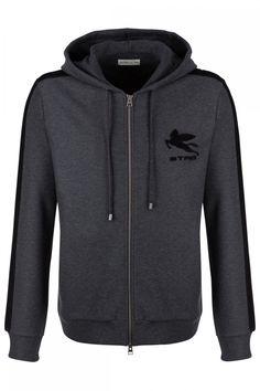 Etro Herren Sweatjacke Dunkelgrau | SAILERstyle Hoodies, Sweaters, Fashion, Trousers, Gowns, Moda, Sweatshirts, Pullover, Sweater