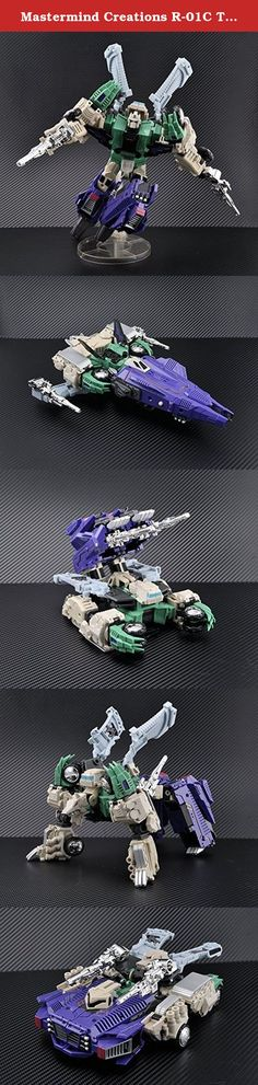 """Mastermind Creations R-01C Terminus Hexatron Continuum """"parallel imports"""". It's shipped off from Japan."""