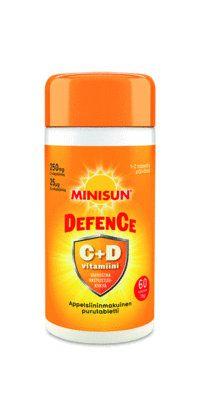 Minisun Defence - C+D-vitamin-supplement - Apteekkituotteet.fi
