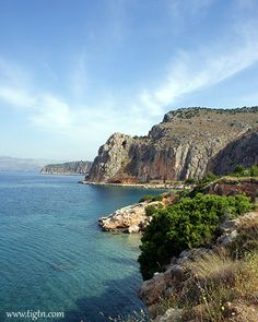 The magnificent view from the trail that links #Arvanitia beach and #Karathona beach in #Nafplio - #Greece
