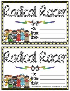 Racing Classroom Theme from Mrs. Bainbridge's Shop on TeachersNotebook.com (29 pages)