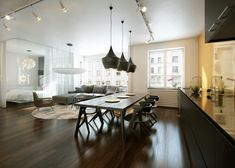 dining room minimalist - Buscar con Google