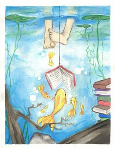 beneath the surface summer reading program 2013 teens - Google Search