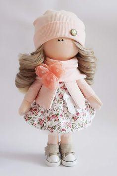 Одноклассники Pretty Dolls, Cute Dolls, Beautiful Dolls, Doll Patterns, Doll Clothes Patterns, Doll Toys, Baby Dolls, Fabric Toys, Polymer Clay Dolls