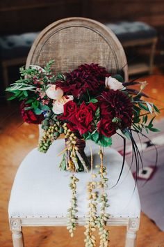 Rustic Fall Wedding in Big Sur | Coastal Burgundy Wedding | Archive Rentals