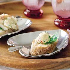 Stokbrood met basilicumboter