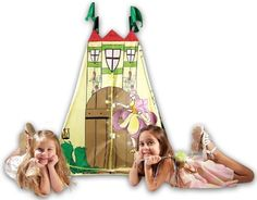 "Kid's Adventure Fairy Princess Castle Play Tent - Kid's Adventure - Toys ""R"" Us Princess Party Supplies, Disney Princess Party, Princess Castle, Toys For Boys, Games For Kids, Kids Tents, Play Tents, Target, Disney Fairies"