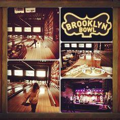 So much fun! Photo by: #lizyloves // #BrooklynBowl > #bowlstagram > #Instagram > #Brooklyn > #photography > #Contest > #bowling > #salsa > #beer > #knish #brooklynblast > #dancing > #fun