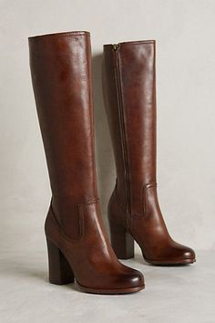 Nice tall shaft on London construction. Frye Parker Tall Boots - anthropologie.com