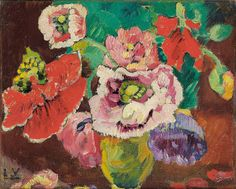 Flowers, by Louis Valtat (French, 1869–1952).
