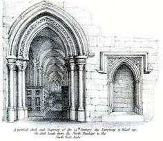 Pointed Arches Islamic ArchitectureArchitecture SketchesGothic