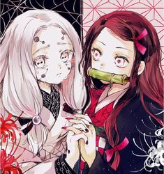 Introducing our newest line of items for the newest anime this year - Demon Slayer (Kimetsu no Yaiba). Otaku Anime, Manga Anime, Manga Art, Fan Art Anime, Anime Art Girl, Anime Love, Anime Girls, Anime Angel, Demon Manga
