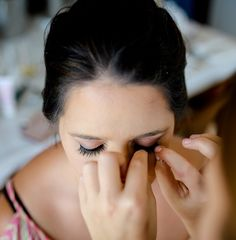 Hoi An Events Weddings - The wedding of your dreams come true Eyelash Extensions, Eyelashes, Dreaming Of You, Our Wedding, Hair Makeup, Make Up, Ear, Bride, Tattoos