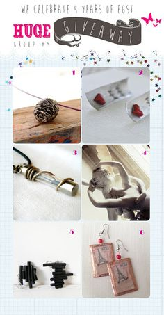 ***** Update Since three of the winners failed to respond to all of my messages, I was forced to choose runner-up winn. Giveaways, Handmade Jewelry, Greeks, My Style, Celebrities, Artist, Competition, Blog, Crafts