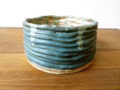 Coiled ceramic bowl #pottery