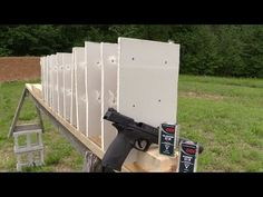 How Many Drywall Layers Will a .22 Long Rifle Cartridge Go Through?