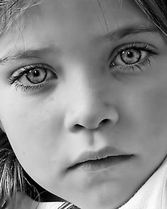 'Friday Night Portrait II' by Rachel Leigh Precious Children, Beautiful Children, Beautiful Babies, Pretty Eyes, Cool Eyes, Black And White Portraits, Black And White Photography, We Are The World, Stunning Eyes