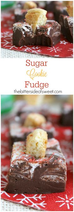 Sugar Cookie Fudge -