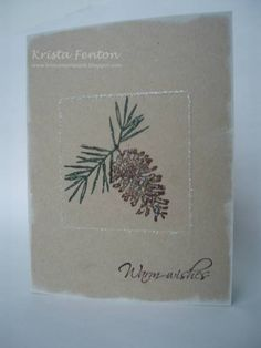 Peaceful Wishes by krista824 - Cards and Paper Crafts at Splitcoaststampers