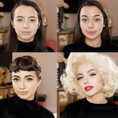 Audrey Hepburn and Marilyn Monroe - Kandee Johnson is one of the original beauty vloggers and has treated us to amazing looks throughout the years. She completed a makeup challenge with fellow vloggers The Merrell Twins, and turned back time with their Audrey Hepburn and Marilyn Monroe costumes.Watch the full tutorial here