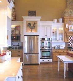 Cozy Open Concept Kitchen from our friends at Country Woman