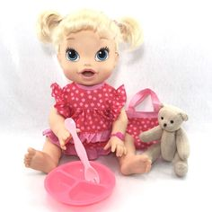 Baby Alive My Baby All Gone Doll ~Pink Flower Cutie~ Lot  | eBay Google Baby, Baby Girl Dolls, Baby Alive, Bitty Baby, Birthday List, Pink Flowers, Children, Ebay, Vinyls