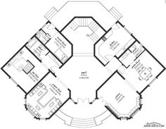 Come across many lots and lots of grand residential houses, flats, villas, townhouses. Cat House Plans, Square House Plans, Sims House Plans, House Layout Plans, Family House Plans, Dream House Plans, House Layouts, House Floor Plans, Classic House Design