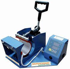 Servicemac equipamentos têxteis.: Maquinas de estampar canecas