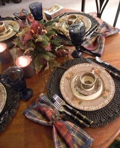 Love the colors on this table setting!