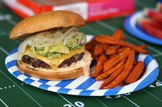 Hapa Burger | Tailgating | King's Hawaiian Recipes