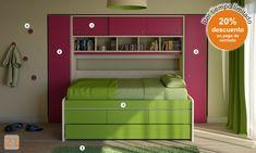 camas cama niños niñas dormitorio habitacion ambientaciones infantiles juveniles alzada baulera perchero camas-marineras-varones