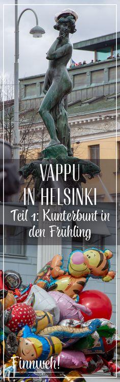 Vappu in Helsinki: Kunterbunt in den Frühling (Teil 1)