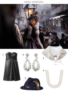 "Fashion inspired by the Academy Award-nominated film ""Anna Karenina"" @annakmovie #movies #style"